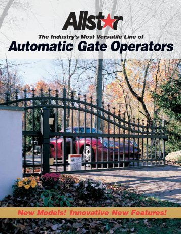 Automatic Gate Operators - Linear