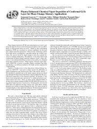 Plasma Enhanced Chemical Vapor Deposition of Conformal GeTe ...