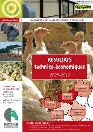 Résultats technico-économiques - Chambres d'agriculture