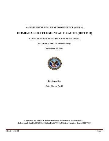 home-based telemental health (hbtmh) - VA Psychology Leadership ...