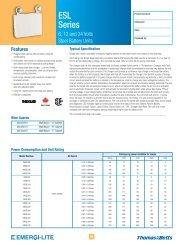 Technical Datasheet - Ontario Westburne