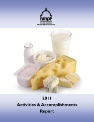 2011 Report - National Milk Producers Federation