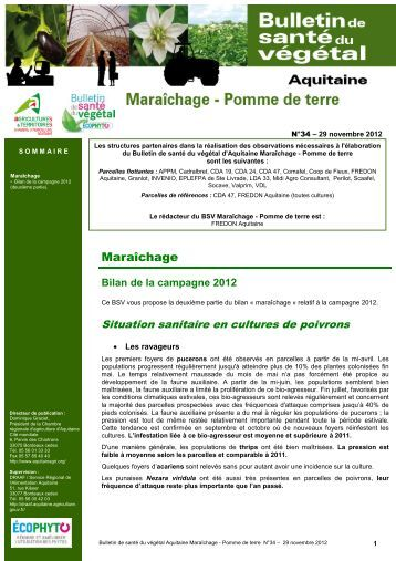 Chancre papyrac obs for Chambre d agriculture 34