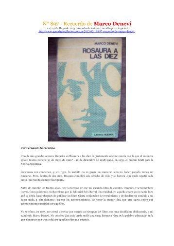 Marco Denevi Rosaura A Las Diez Pdf Download ascii geburtstagswunsch weibern mitsingen musikalische