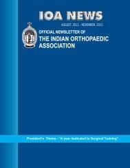 IOA - Indian Orthopaedic Association