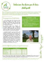 Valoriser les haies par le bois déchiqueté - Chambre d'agriculture ...