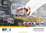 Untitled - Project Management Institute: Arabian Gulf Chapter