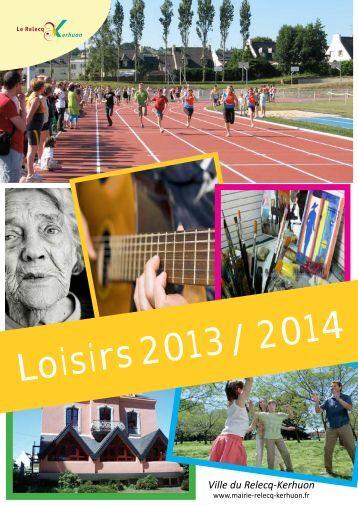 Loisirs 2013 / 2014 - Mairie du Relecq Kerhuon