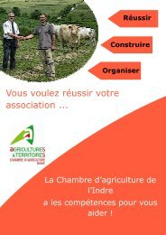 Vous voulez réussir votre association ... - Chambre d'agriculture de l ...