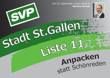 Kandidaten-Flyer als PDF downloaden - SVP St.Gallen
