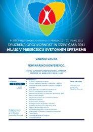 Vabilo na novinarsko konferenco - Urad Vlade Republike Slovenije ...