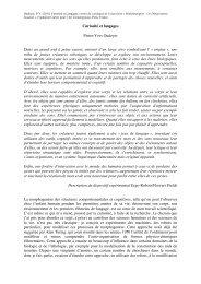 (2011) Curiosité et Langages, extrait du catalogue de l'exposition