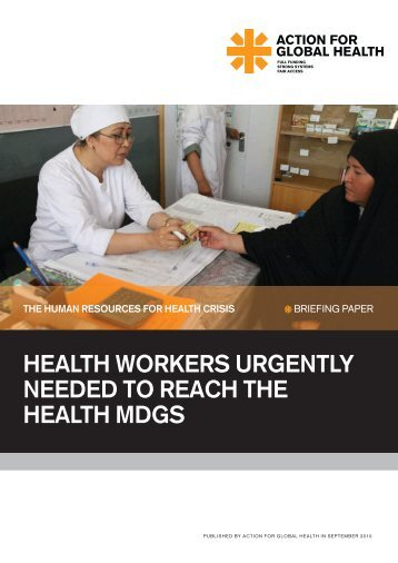 policy briefing - Action for Global Health