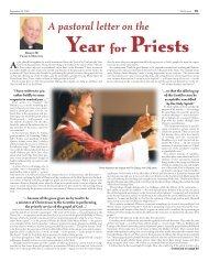 Year for Priests - Catholic Diocese of Wilmington