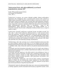 Uuringu kokkuvõte 2007 - Põllumajandusuuringute Keskus