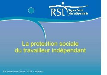 La protection sociale du travailleur indépendant - Cipac
