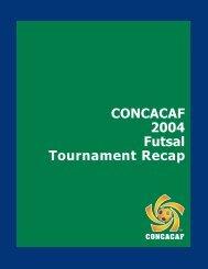 Futsal Championship 2004 - CONCACAF.com