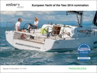 European Yacht of the Year 2014 nomination - WNE Yachting