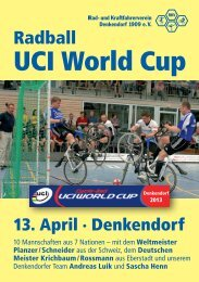 UCI World Cup - RKV Denkendorf