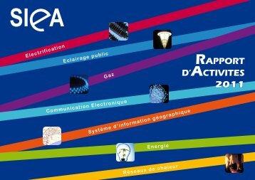 Rapport d'activités 2011 - SIEA