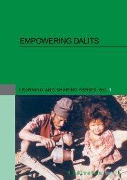 EMPOWERING DALITS - Helvetas