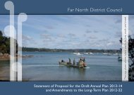 Draft Annual Plan 2013-14 Full Document (PDF 5.5MB) - Far North ...