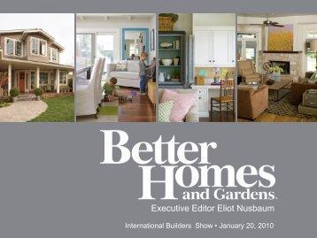 Executive Editor Eliot Nusbaum - International Builders' Show
