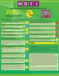 Perú - World Breastfeeding Trends Initiative