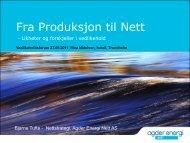 Vedlikeholdsprogram - Energi Norge