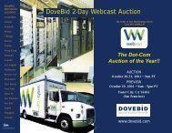 DoveBid 2-Day Webcast Auction