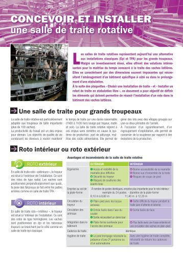 Les facteurs qui influenc - Chambre d agriculture de bretagne ...