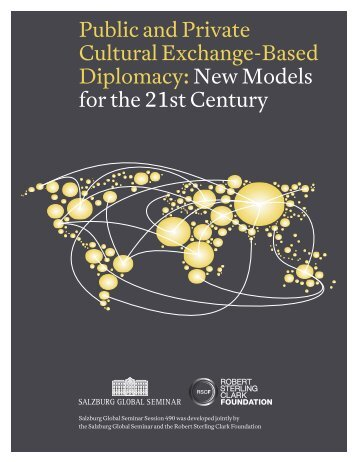 Public and Private Cultural Exchange-Based Diplomacy:New ...