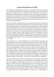 Lesung von Rosa Naumann an der DSB - DSB | Kairo