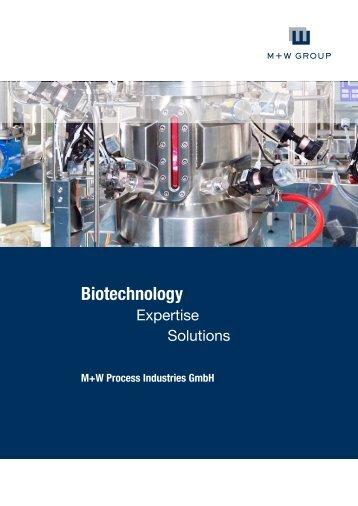 Biotechnology - M+W Process Industries GmbH - M+W Group