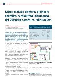 Labas prakses piemērs: piektdaļu enerģijas centralizētai ...