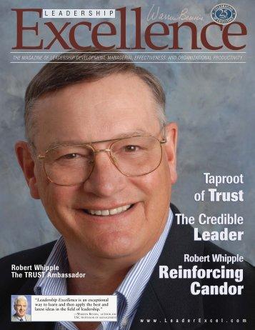 of Trust of Trust Reinforcing Candor Reinforcing ... - Zd-cms.com