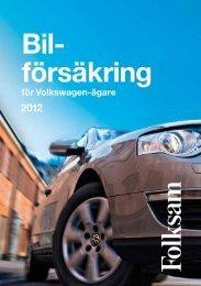 Bil- försäkring - Folksam