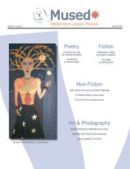 Poetry Non-Fiction Fiction Art & Photography