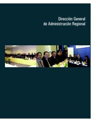 Dirección General de Administración Regional - Suprema Corte de ...