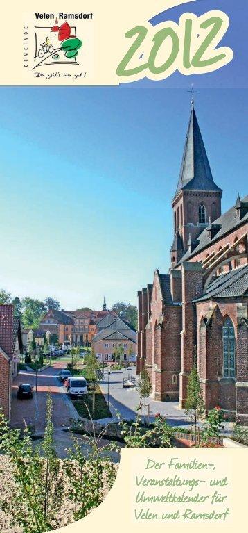 Der Familien-, Veranstaltungs- und ... - Gemeinde Velen