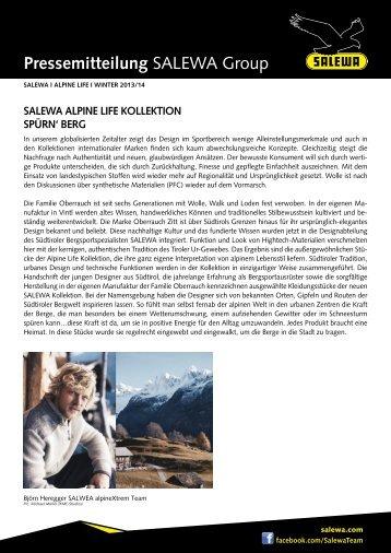 Alpine Life (PDF) - Salewa