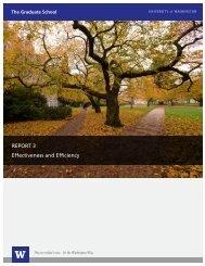 Report 3 - Graduate School - University of Washington