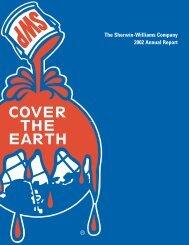 The Sherwin-Williams Company 2002 Annual Report - Investor ...