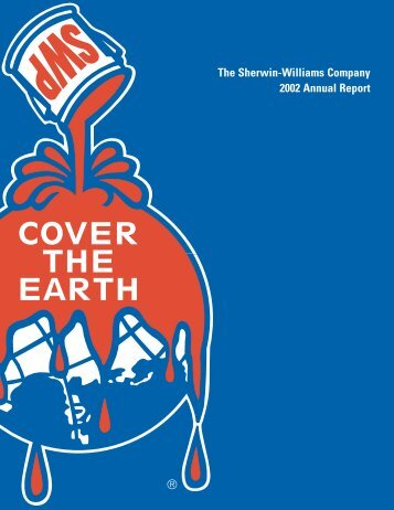 The Sherwin-Williams Company 2002 Annual Report - Investor ...
