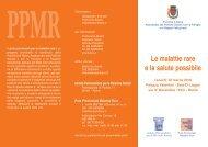 Le malattie rare e la salute possibile - AICH Roma