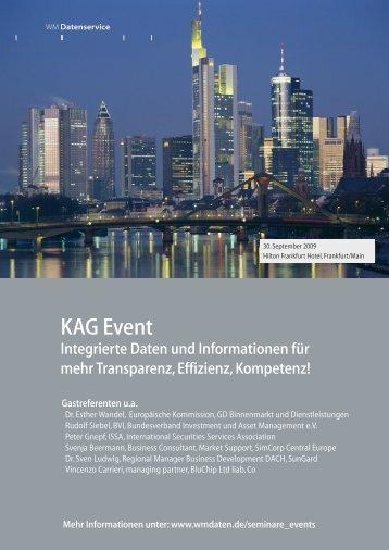 KAG Event - WM Datenservice