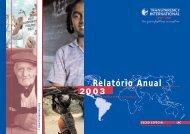 Relatório Anual 2 - Transparência Brasil
