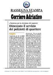 Rassegna stampa: Senigallia - Sindacato Italiano Unitario ...