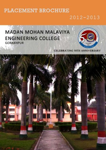 College Brochure - Madan Mohan Malviya Engineering College