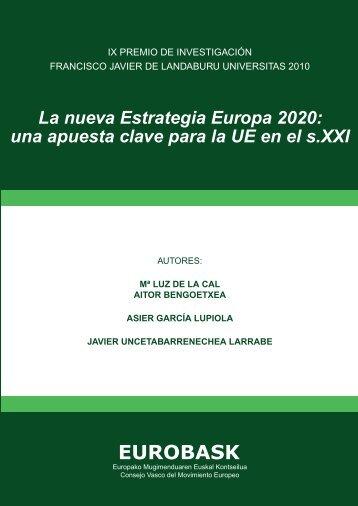 La nueva Estrategia Europa 2020: una apuesta clave ... - Eurobask